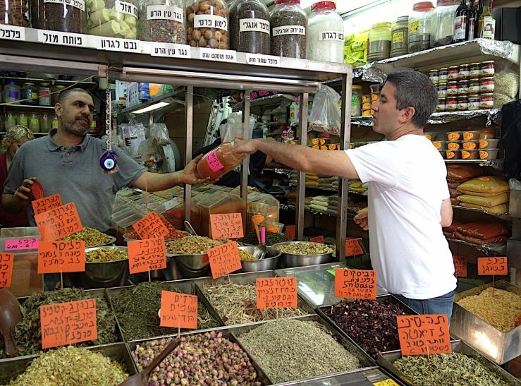 vendors in Levinsky market