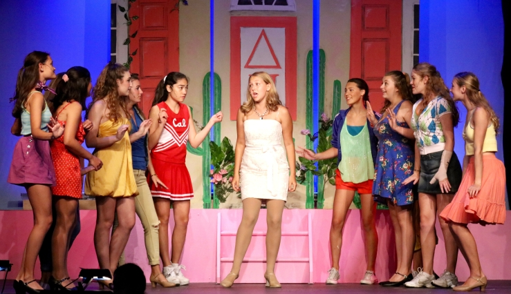 Legally Blonde benefit