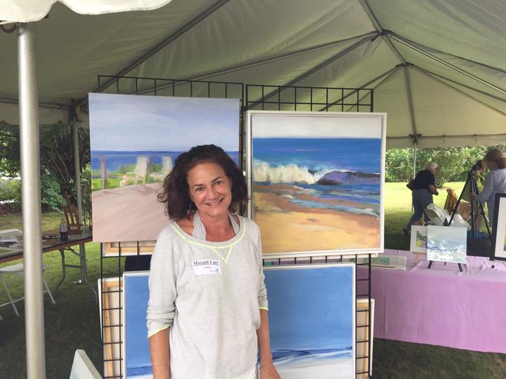 Margot Carr QHS art show