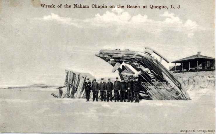 Nahum Chapin 1897 Postcard