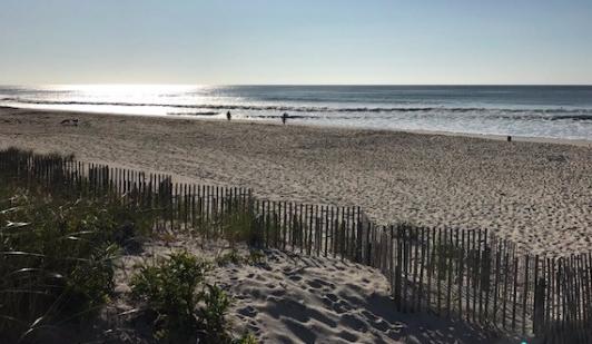 Septober morning at the beach. —Lucinda Morrisey Photos