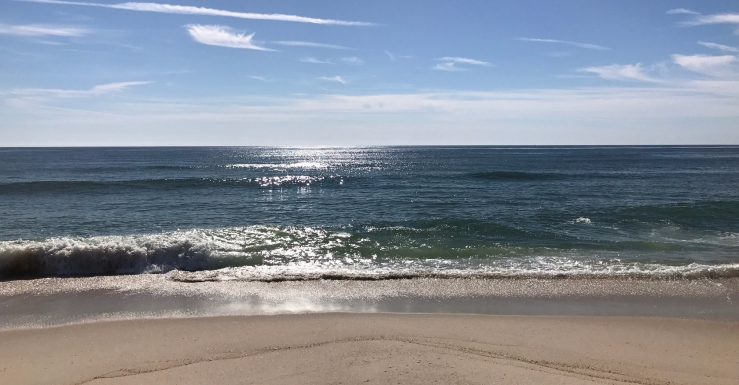 October beach day