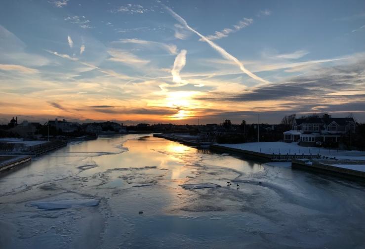 Deep freeze canal