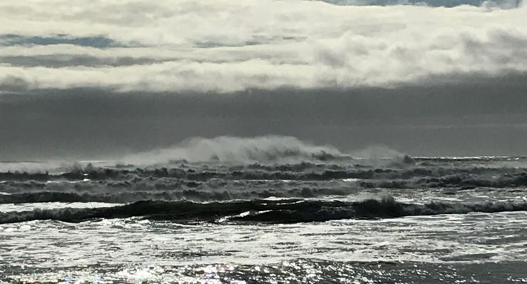 Storm Tossed Sea