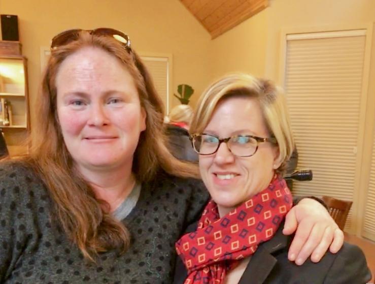 Julie B. Green and Elizabeth Lueck