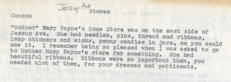 QHS Concha Home Store Reminiscences