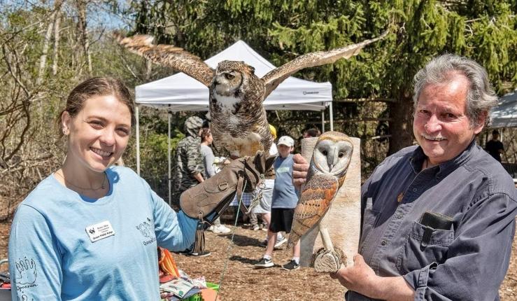 QWR Earth Day Owls