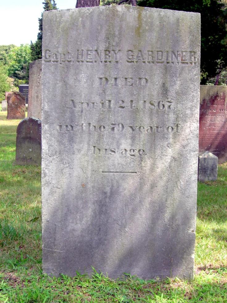 Capt Henry Gardiner 1788-1867
