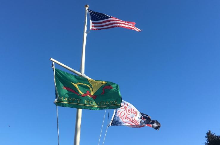 Holiday flags B Murray