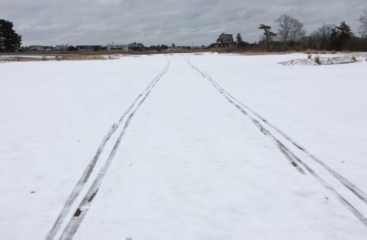 XC ski track GJ