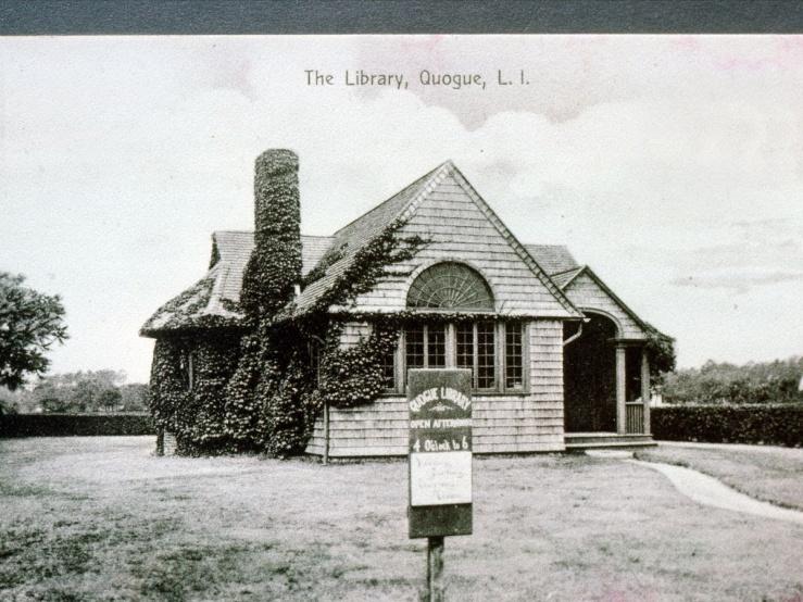 Quogue Library est. 1897