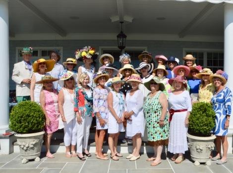 Garden Club hats