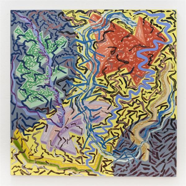 Joan Thorne, _Aba_, 1982, Oil on canvas, 53_ x 53_