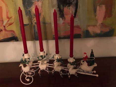 Moley Santa sleigh