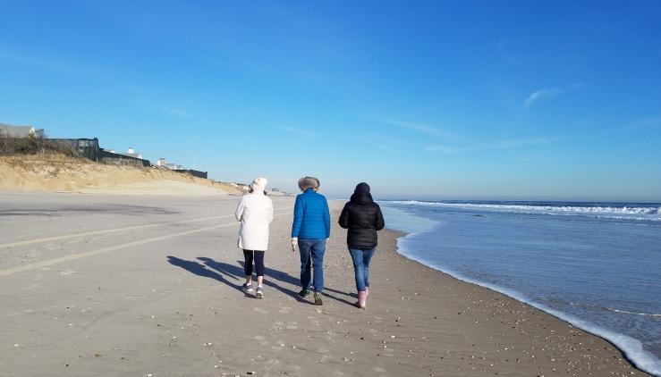 Beach walk JMcD