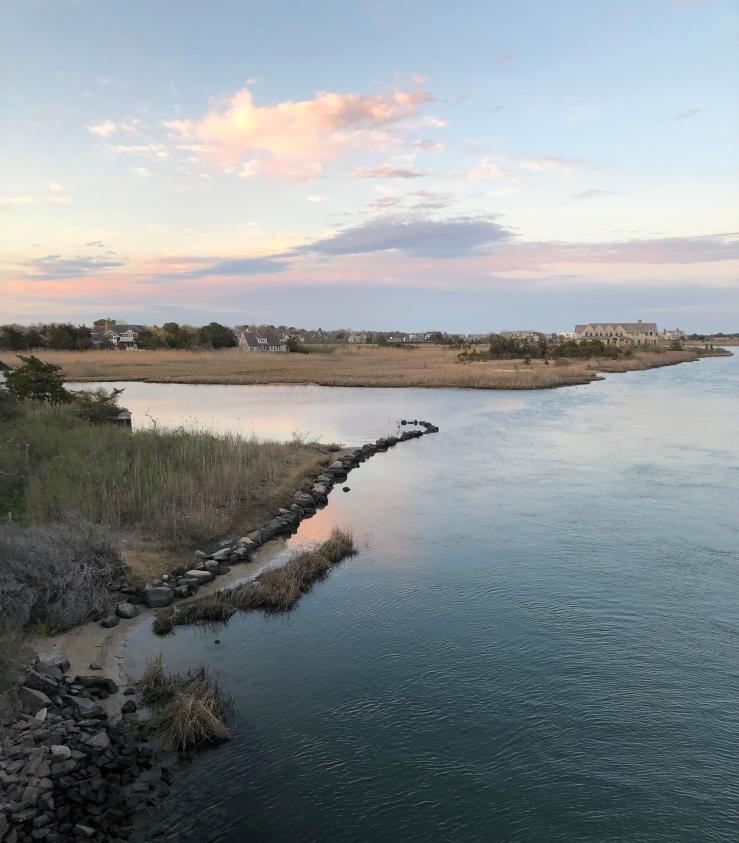 dusk bridge east GR