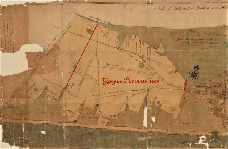 Quogue Purchase map